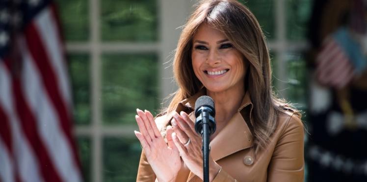 Photo - Melania Trump : un cliché qui se voulait féérique fait grincer des dents