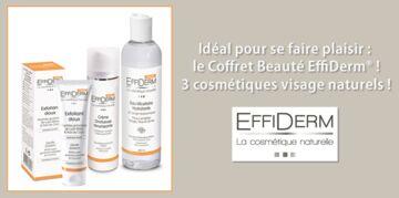 Gagnez votre coffret Beauté EffiDerm®