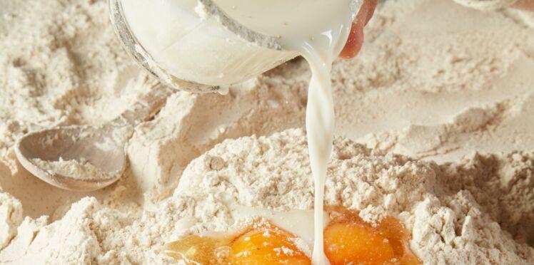 Œuf, lait, farine : 3 ingrédients, 5 recettes