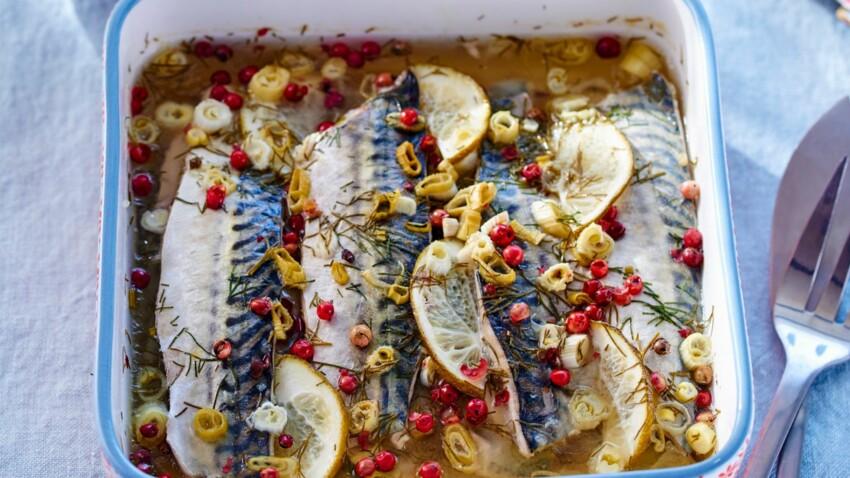 Sardines, maquereaux et harengs : nos recettes pour les cuisiner comme un chef