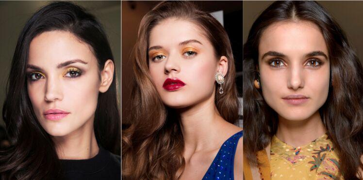 Maquillage des yeux : la tendance du make-up doré