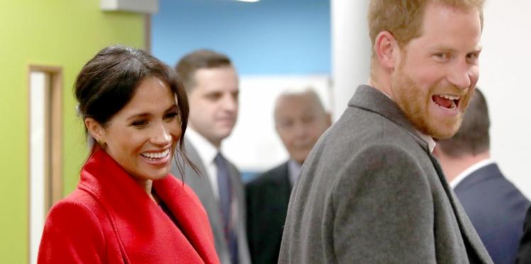 Photo - Meghan et Harry choisissent un cliché surprenant pour leur carte de remerciements