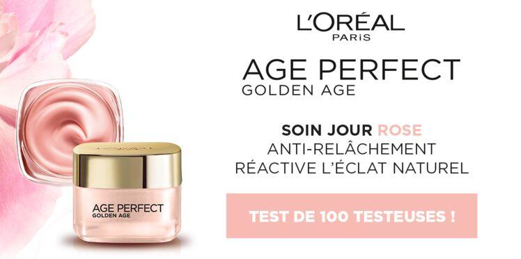 Testez le soin Jour Rose Age Perfect Golden Age de l'Oréal Paris