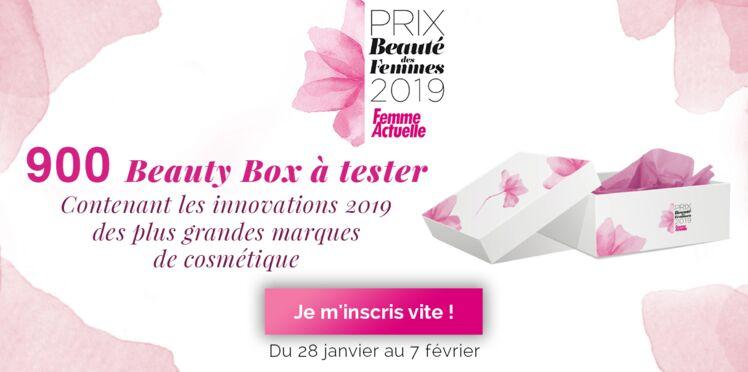 Participez au Prix Beauté des Femmes 2019 par Femme Actuelle