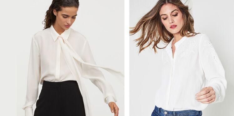 Chemise blanche : 5 façons de l'adopter avec style (nos conseils et toutes les nouveautés)