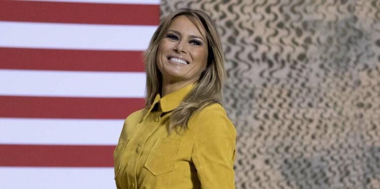 PHOTO – Pour ses 2 ans à la Maison Blanche, Mélania Trump poste une photo surprenante