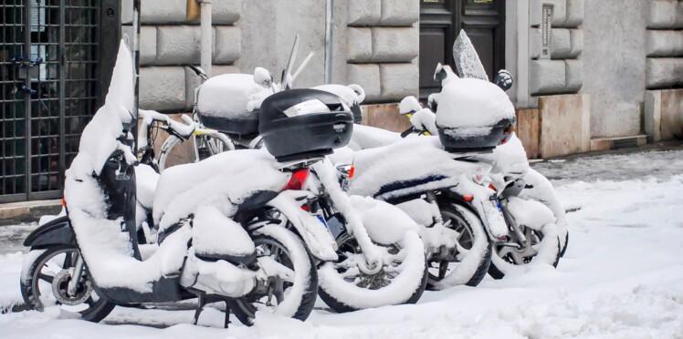 5 conseils pour rouler en scooter l'hiver