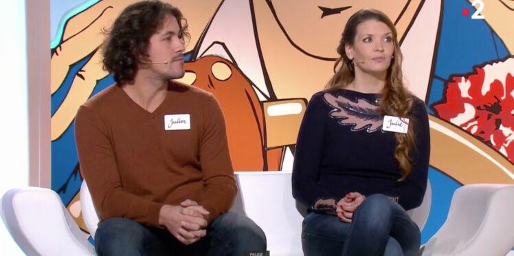 Jean-Luc Reichmann reconnaît le visage de Julien des 12 coups de midi dans Les Z'amours