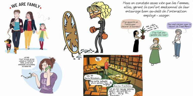 Ces illustratrices de BD croquent les travers de notre société