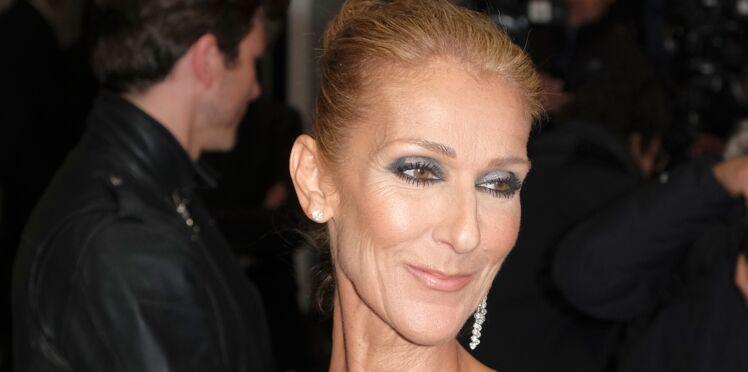 PHOTOS - Céline Dion : en robe longue ultra-fendue et décolleté chic, la diva a fait sensation