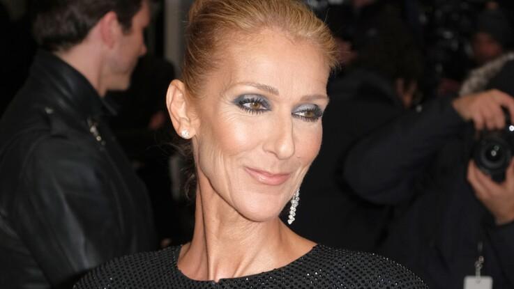 3318221999 Céline Dion, en robe rose pétard, totalement déjantée au Moulin Rouge !