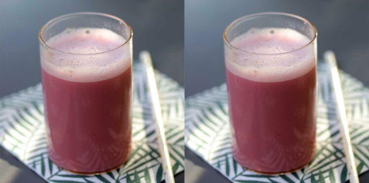 Pink Latte (boisson végétale à la betterave)