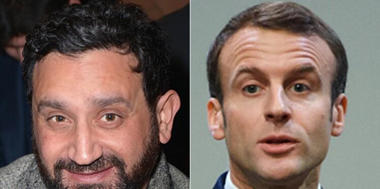 Cyril Hanouna dévoile le contenu de ses SMS avec Emmanuel Macron