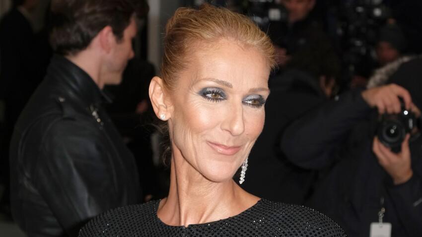 Céline Dion, toujours aussi extravagante, ose le manteau en tutu rouge !