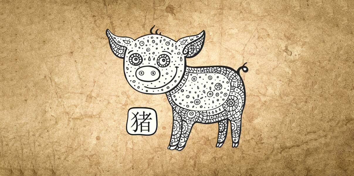 Horoscope chinois 2019 du Cochon