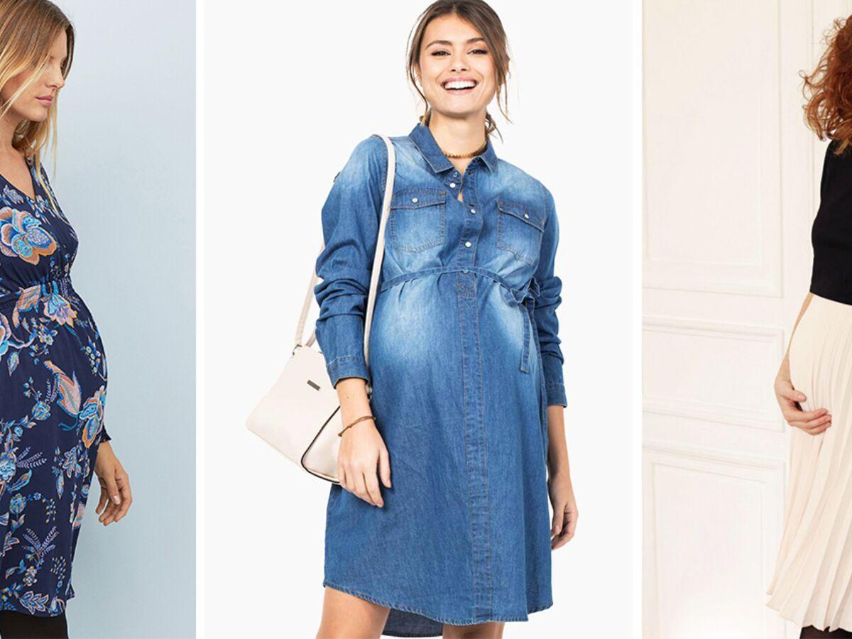 Robes De Grossesse Les Plus Belles Nouveautes Pour Femme Enceinte A Partir De 19 Femme Actuelle Le Mag