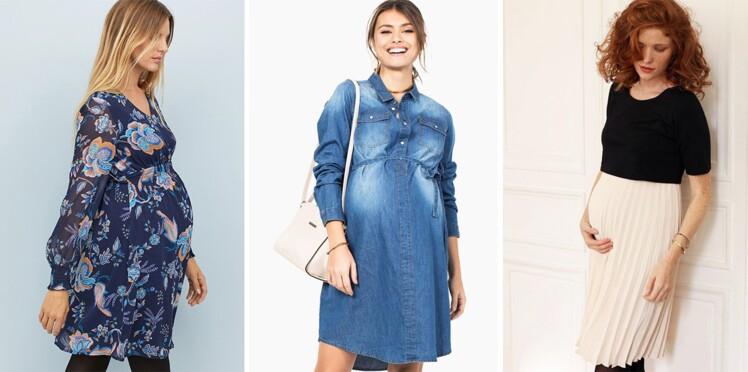 Robes de grossesse : les plus belles nouveautés pour femme enceinte (à partir de 19 € !)