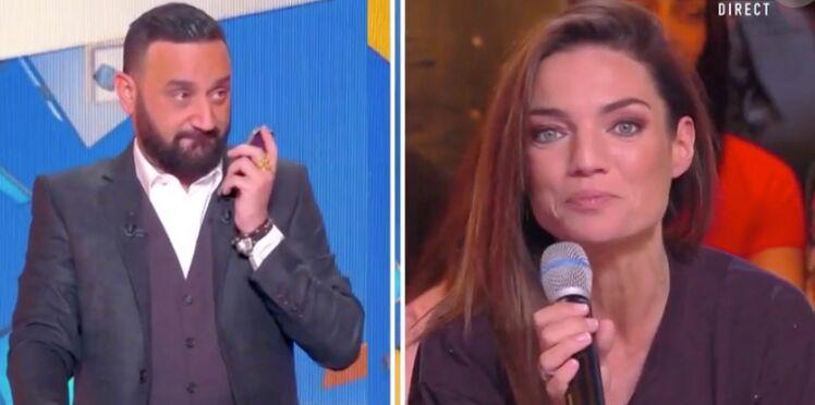 Francesca Antoniotti (Touche pas à mon poste) craque pour un acteur français, Cyril Hanouna l'appelle en direct