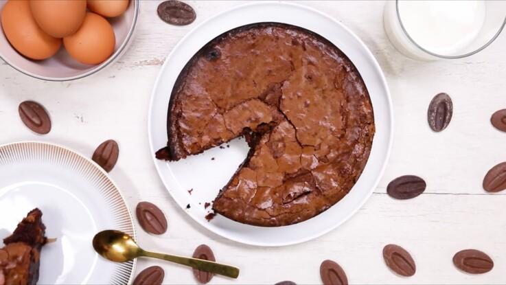 La recette rapide et facile du fondant au chocolat