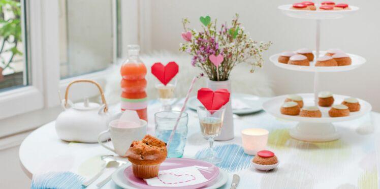 Saint-Valentin : une table trendy