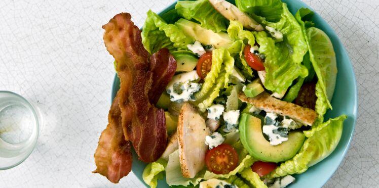 Nos meilleures recettes de salades au poulet