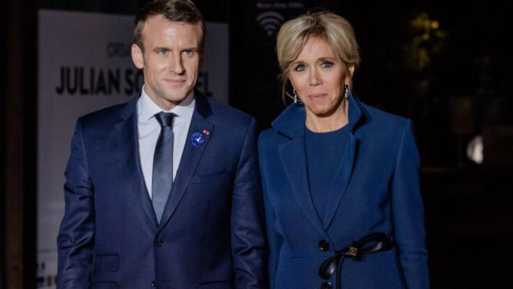 """Quand Brigitte Macron s'excuse car le président n'est pas présentable : """"Il n'est pas visible"""""""