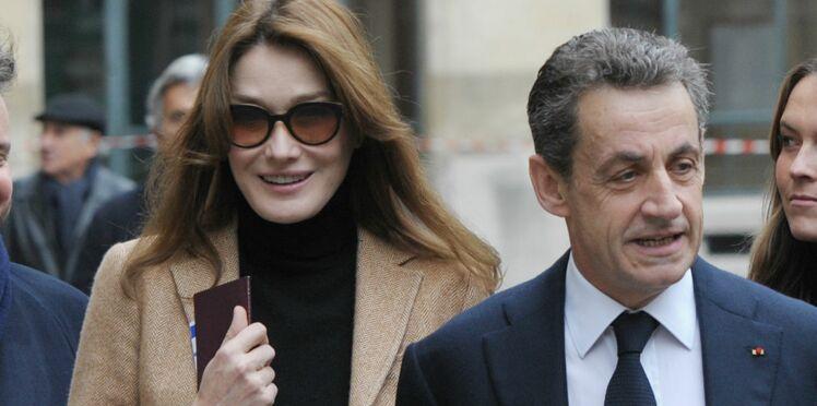 Photo - La tendre déclaration de Carla Bruni à Nicolas Sarkozy pour leurs onze ans de mariage