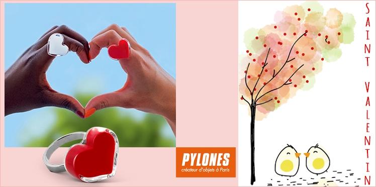 Saint Valentin : 30 bagues coeur Pylônes à gagner