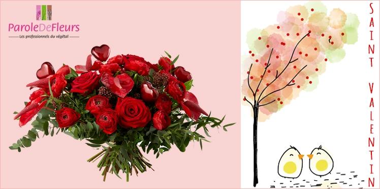 Saint Valentin : 20 bouquets à gagner avec Parole de Fleurs