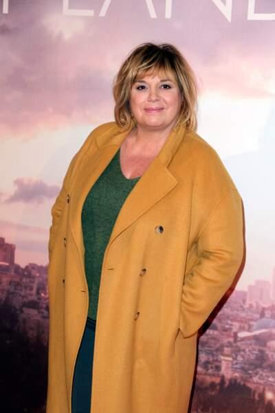 """Michèle Bernier à la première du film """"Holy Lands"""" en 2018."""