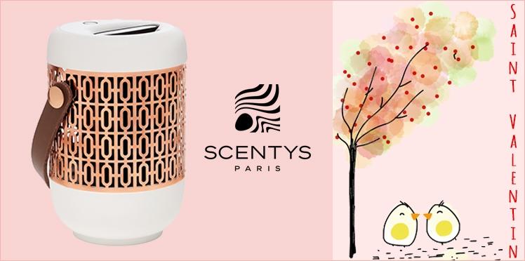 Saint Valentin : 10 diffuseurs de parfums Scentys à gagner