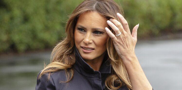PHOTOS - Melania Trump : manteau et bottes camel, ou le total look terriblement tendance (mais qui fait – encore – polémique !)