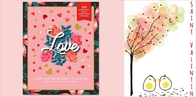 Saint Valentin : Gagnez votre LOVE BOOK avec Les Editions Prisma