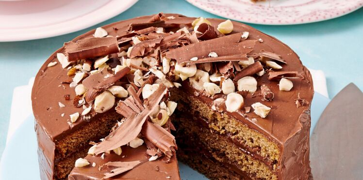 Gâteau à la pâte à tartiner