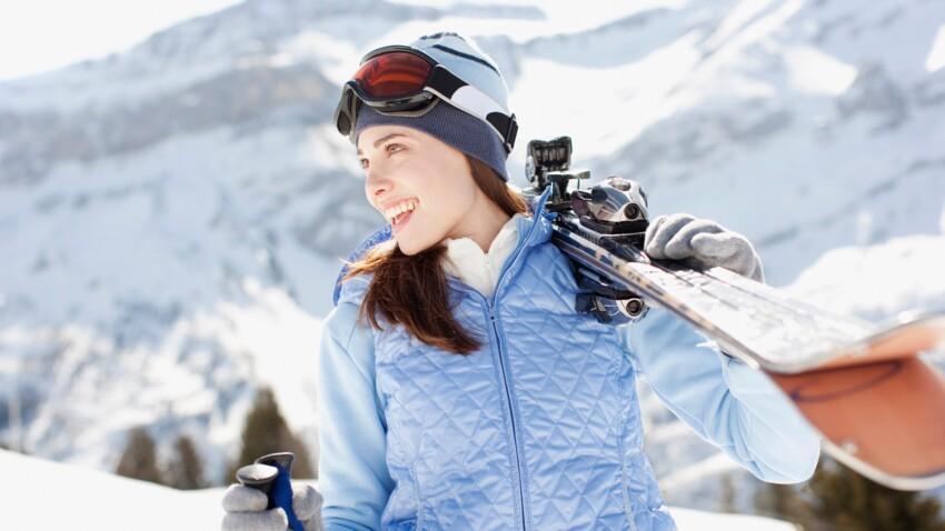 Visage, cheveux, corps… Nos astuces pour être belle au ski