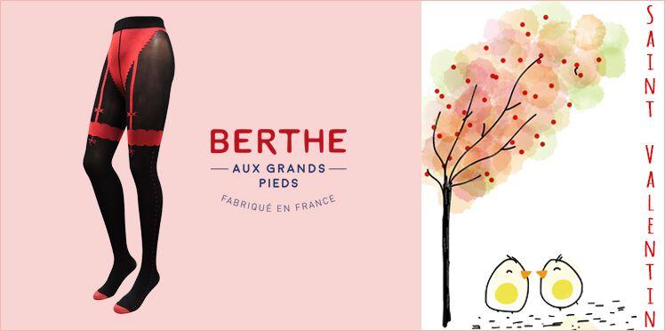 Saint-Valentin : Gagnez vos collants sexy Berthe aux Grands Pieds