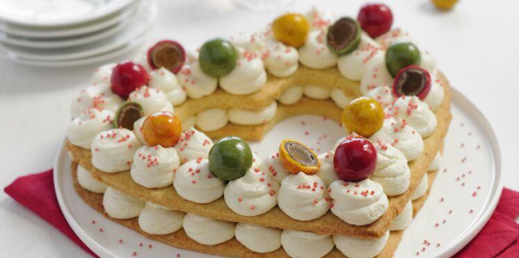 Le gâteau coeur aux Pommes d'Amour de François Doucet