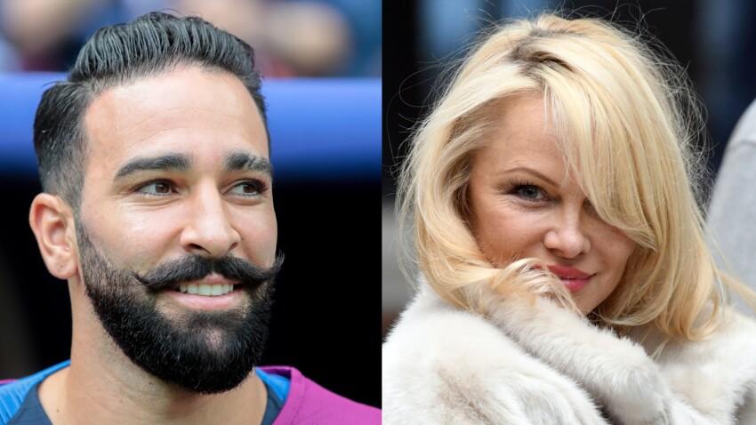 Adil Rami multiplie les déclarations d'amour à sa compagne Pamela Anderson