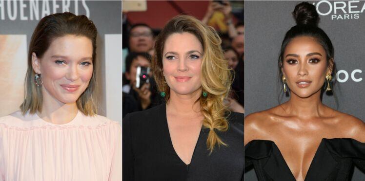 10 coiffures élégantes de soirée inspirées des stars
