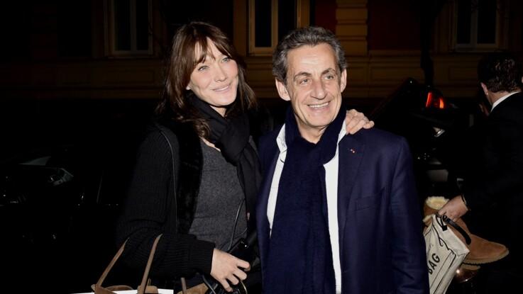 Quand Nicolas Sarkozy se pavane en petite tenue dans le bureau de Carla Bruni-Sarkozy