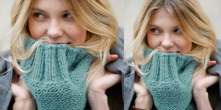 Tricot gratuit : le snood facile