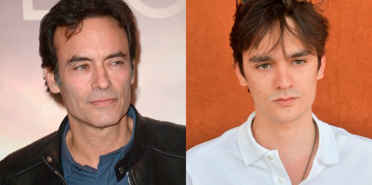 Photo - Anthony Delon, fier de son frère Alain-Fabien en couverture des magazines