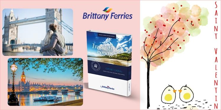 Saint-Valentin : 2 coffrets Brittany Ferries à gagner