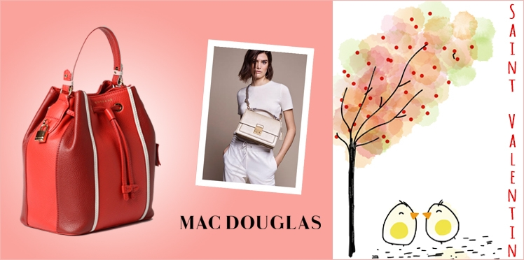 Saint-Valentin : 5 superbes sacs MacDouglas à gagner