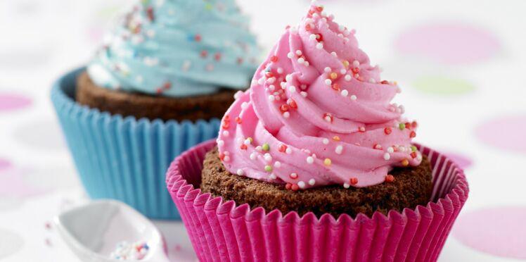Le duo de cupcakes moelleux