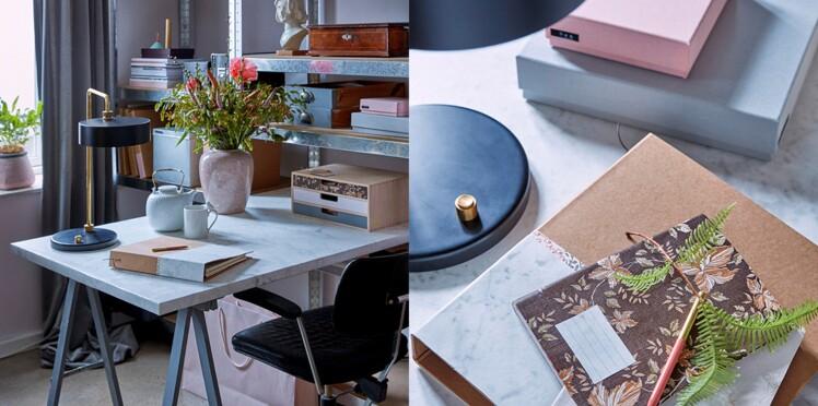 4 id es express pour am nager son bureau femme actuelle le mag. Black Bedroom Furniture Sets. Home Design Ideas