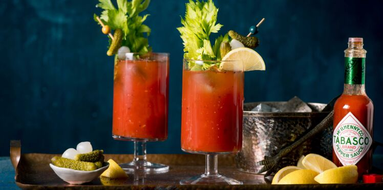 Bloody Mary à la sauce Tabasco® rouge