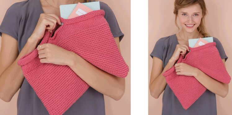 Tricot gratuit : le petit sac rectangulaire