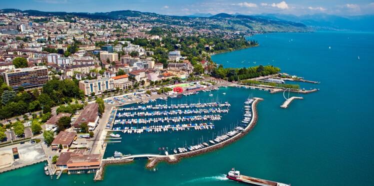 Suisse : balade au bord du lac Léman