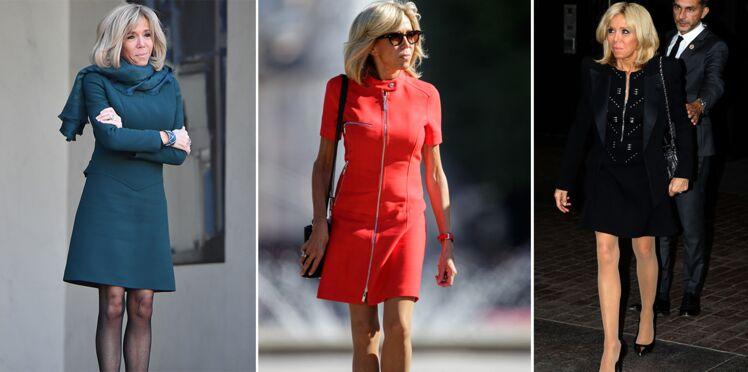 Robes courtes et mini-jupes, Brigitte Macron ne rate pas une occasion pour dévoiler son incroyable jeu de jambes